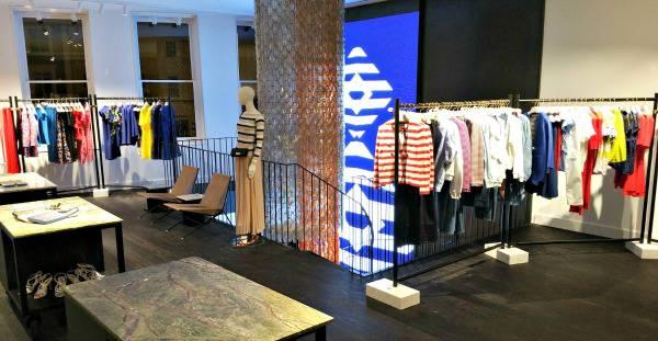 Installazione Ledwall a parete in negozio di abbigliamento a Londra