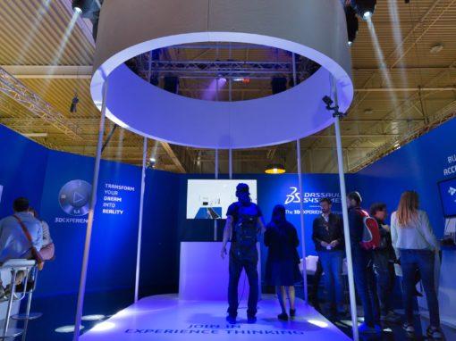 Stand Dassault System – Salone del Mobile 2017