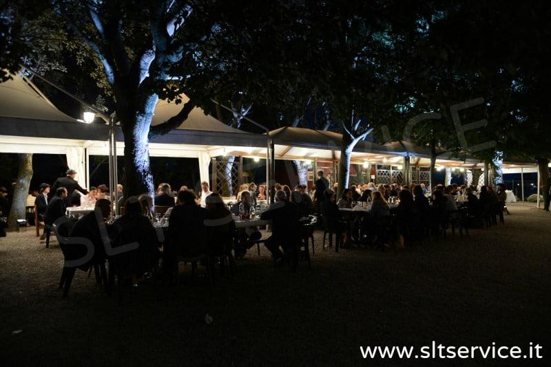 Illuminazione evento wireless slt service