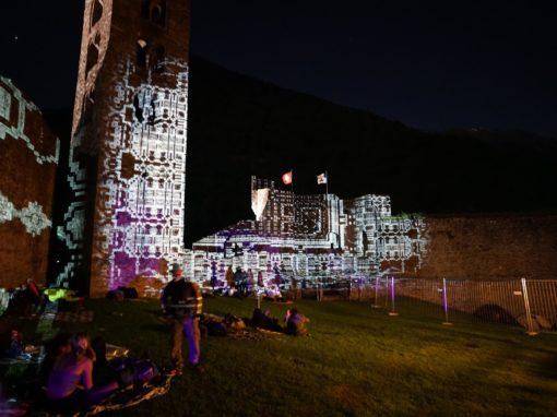 Videomapping Lugano