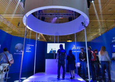Stand Dassault System – Salone del Mobile 2017